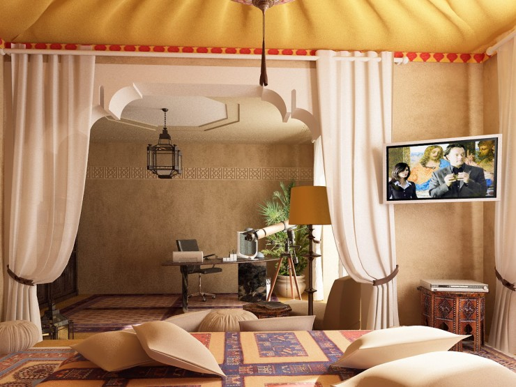 moroccan themed bedroom 40 moroccan themed bedroom decorating ideas decoholic 12670