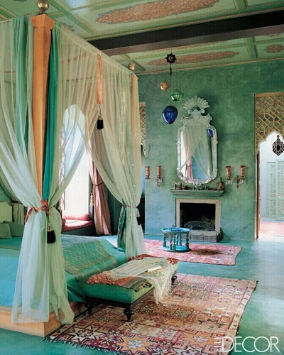 Charmant Moroccan Bedroom 9 Decorating Ideas