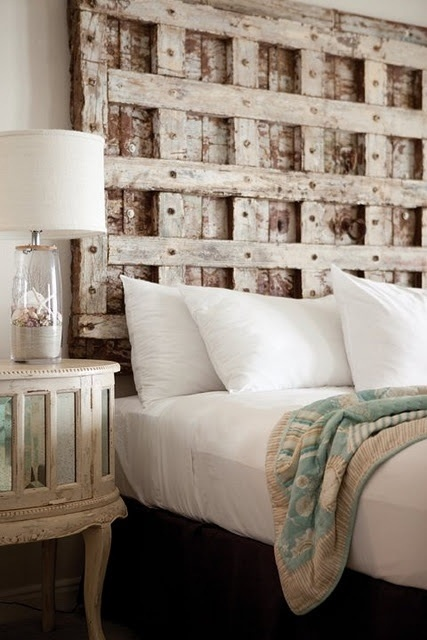 Old Doors Headboard 17 Ideas