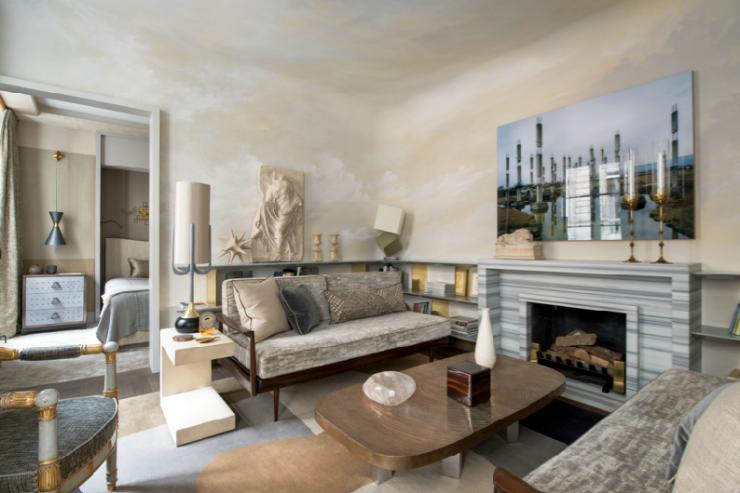 Eclectic Chic Parisian interiors