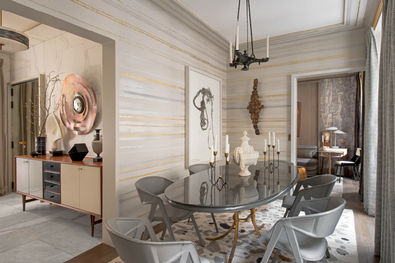 Jean Louis Deniots Eclectic Chic Parisian Apartment