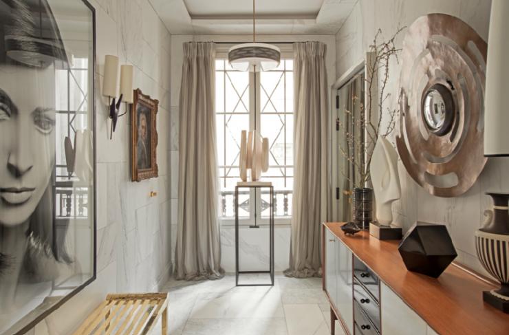 Eclectic Chic Parisian interiors 7