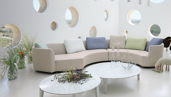 roche bobnois 14 contemporary sofa