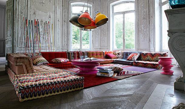 roche bobnois 17 contemporary sofa