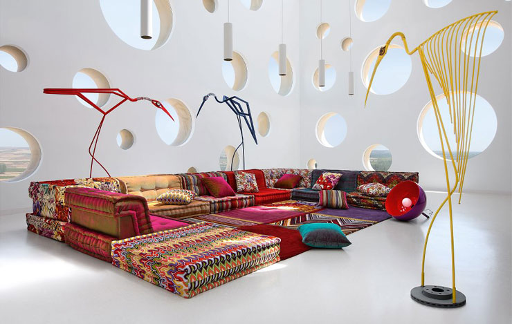 Roche Bobois Sofa AutumnWinter 2012 2013 Collection Decoholic