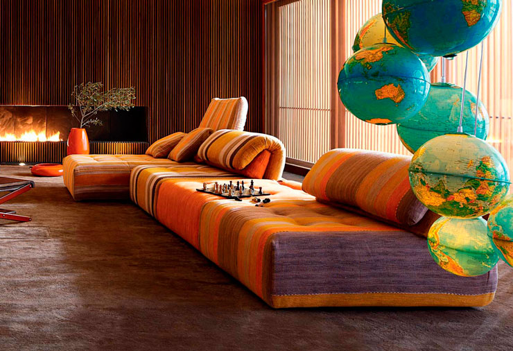 Roche bobois sofa autumn winter 2012 2013 collection for Canape voyage immobile