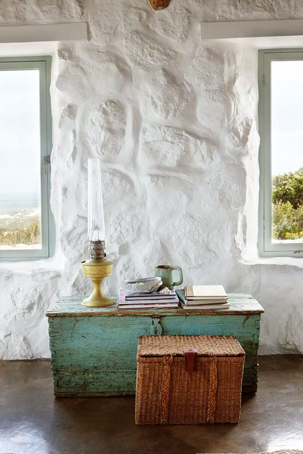 simple stylish stone cottage 2 interiors - Stone Cottage Interiors