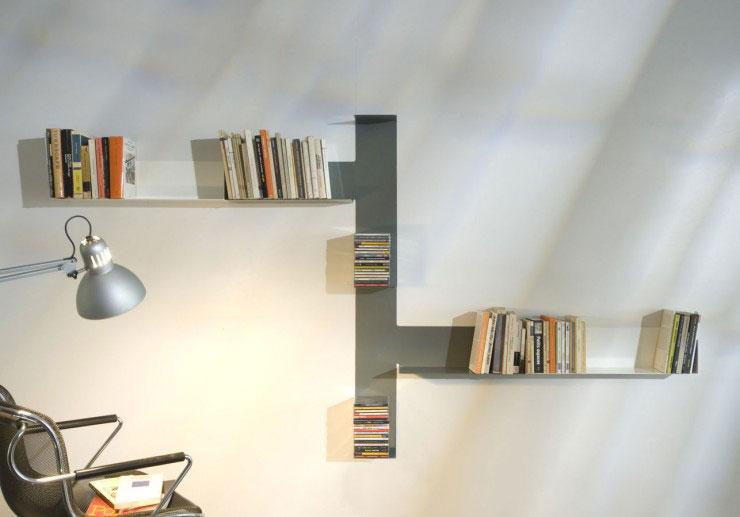 Teebooks Floating Light Wall Shelf 3