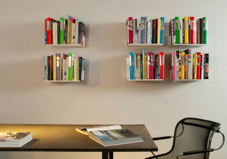 TEEbooks Floating Light Wall Shelf 4