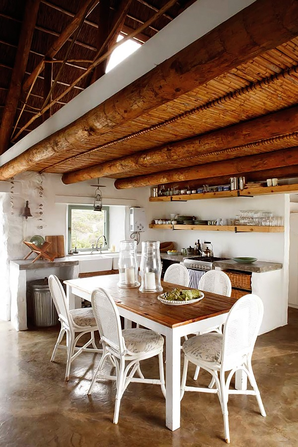 simple stylish stone cottage 6 interiors