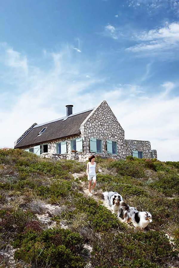 simple Stylish Stone Cottage 9