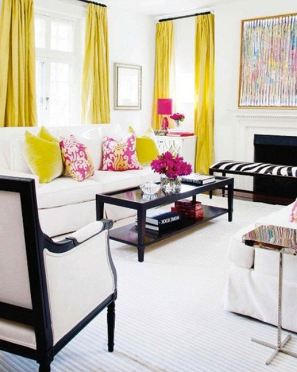 36 living room decorating ideas that smells like spring for Room interior decoration ideas