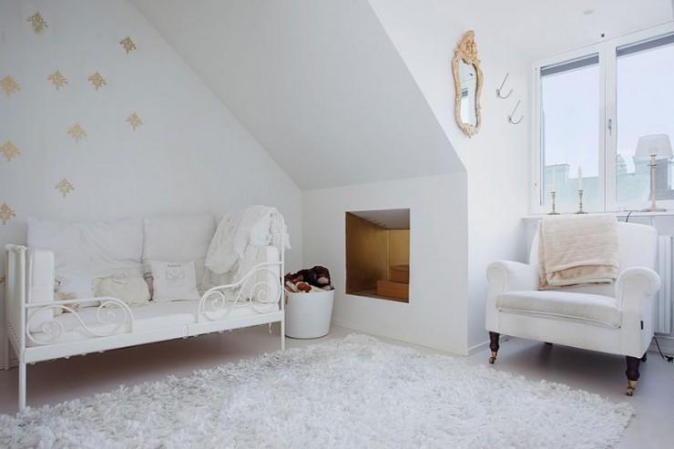 stockholm penthouse white interiors 14