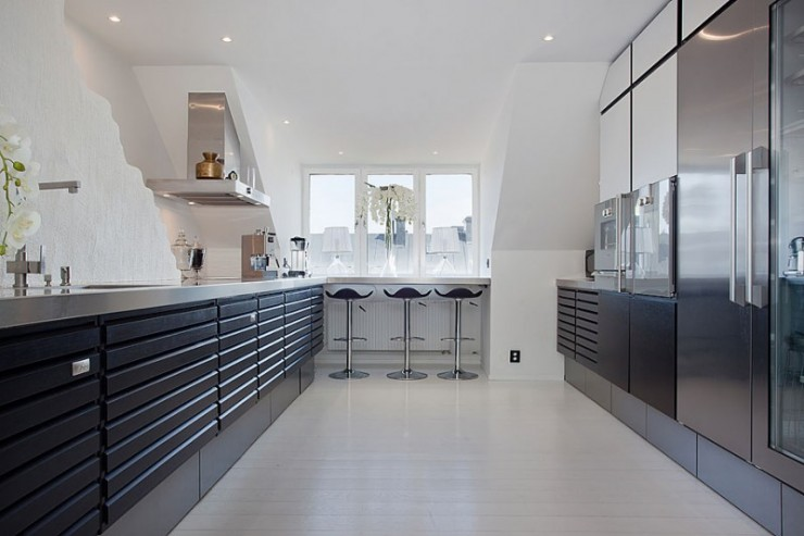 stockholm penthouse white interiors 3