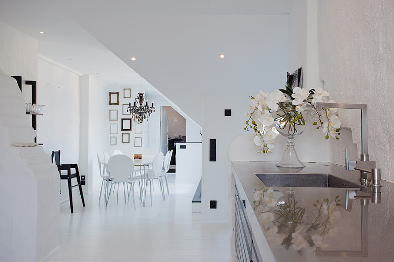 stockholm penthouse white interiors
