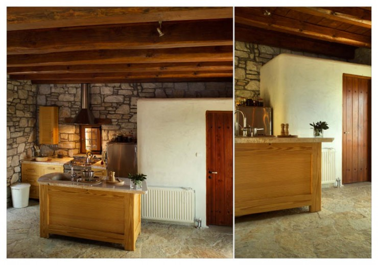 Awesome Traditional Stone House 3 interiors In Pelion Greece