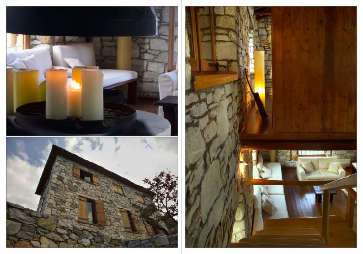 Awesome Traditional Stone House 4 interiors In Pelion Greece