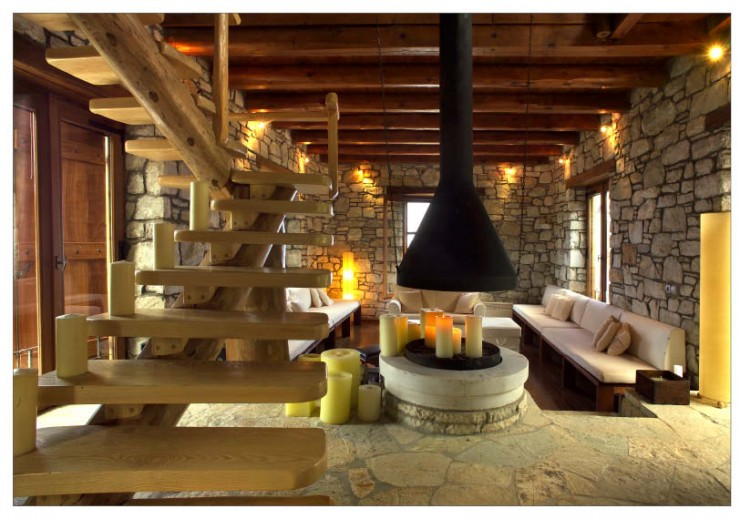 Awesome Traditional Stone House 5 Interiors In Pelion Greece