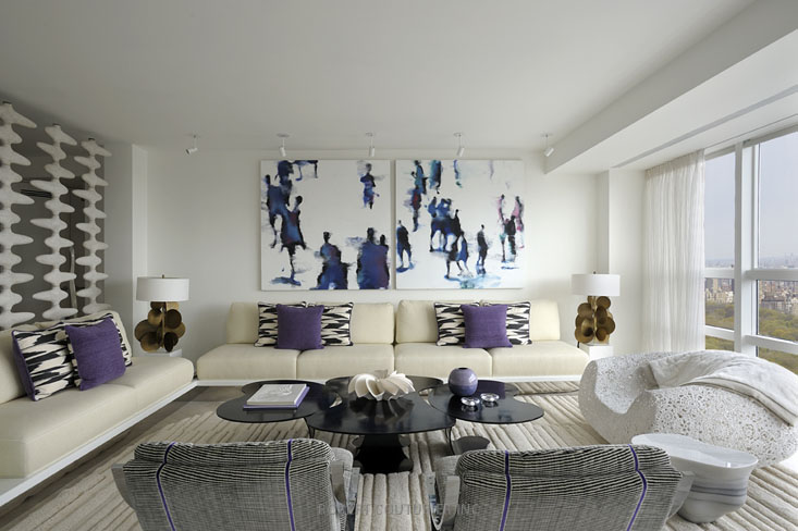 Ultra Modern Interior Design by Robert Couturier