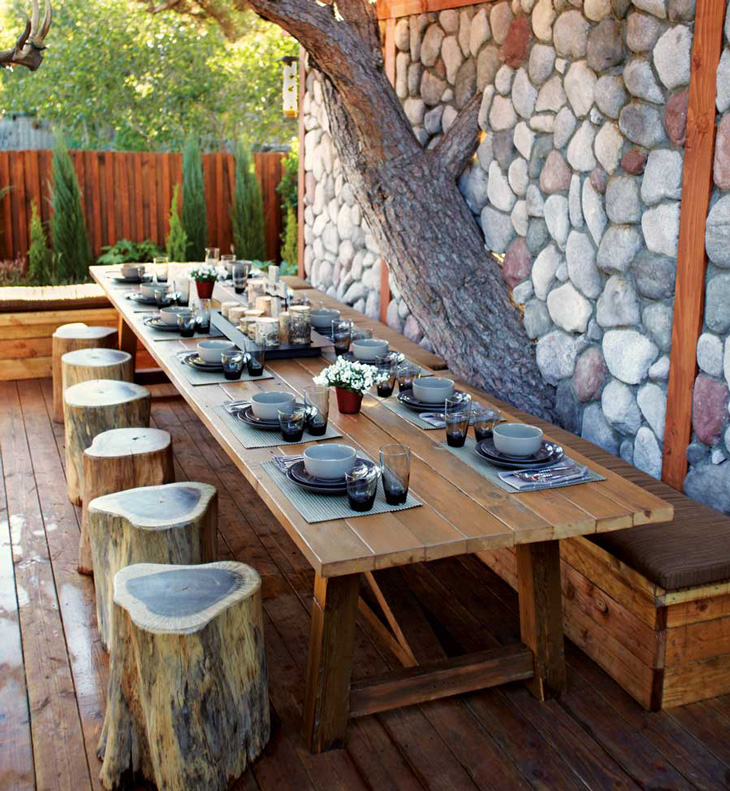 12 Awesome Outdoor Dining Ideas