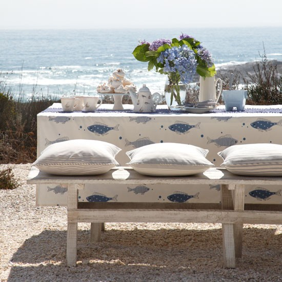 coastal outdoor dining