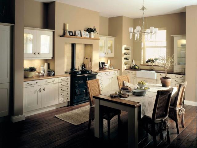 Abbey Country Matt Kitchen in Cream