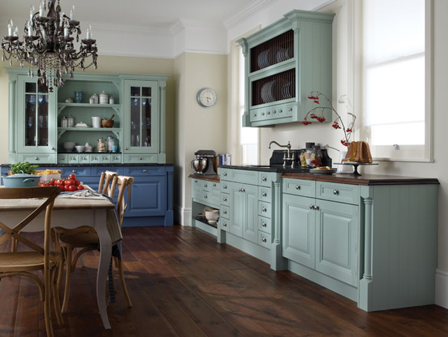 Cornell Painted Traditional Kitchen