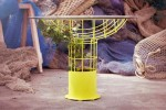 Trama Outdoor Table by Mermalada Studio