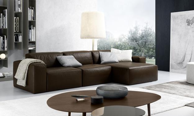 daniel brown leather sofa