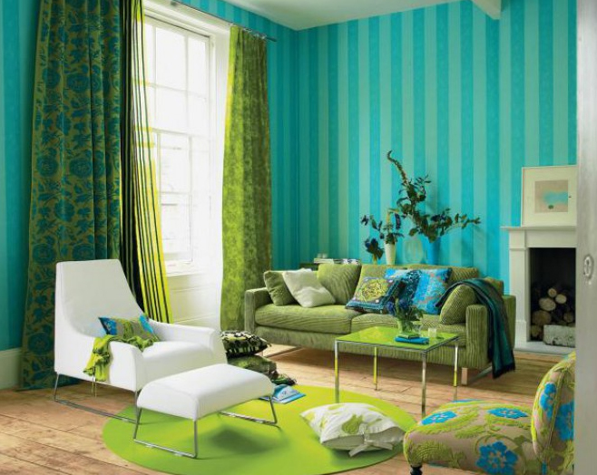 green living room 10