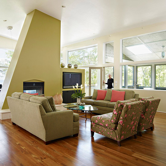 green living room 15