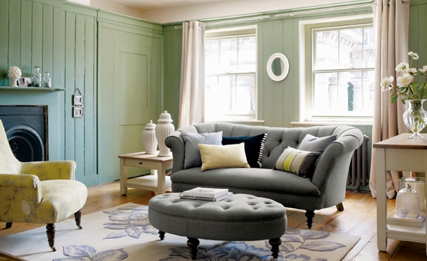 26 relaxing green living room ideas decoholic - Sage green living room ...