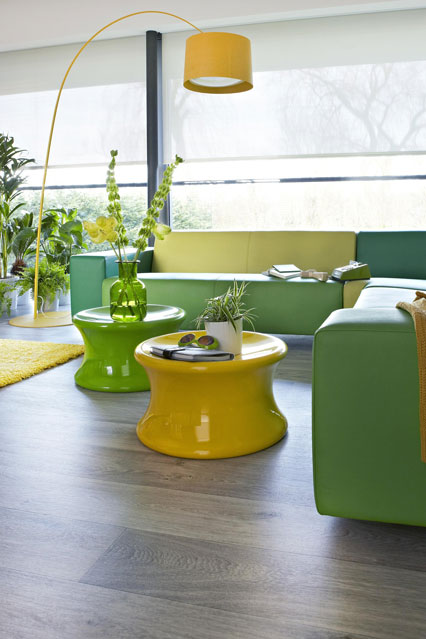 modern green and yellow living room 21