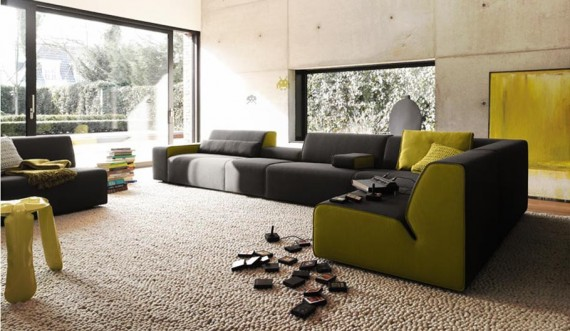 green living room 25