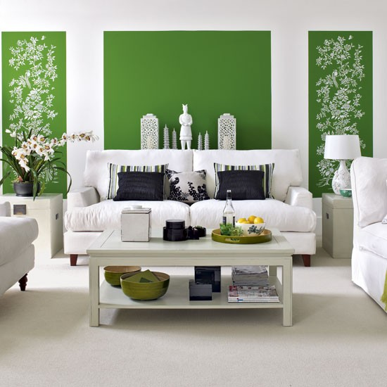 Green Living Room Ideas For Soothing Sophisticated Spaces: 26 Relaxing Green Living Room Ideas