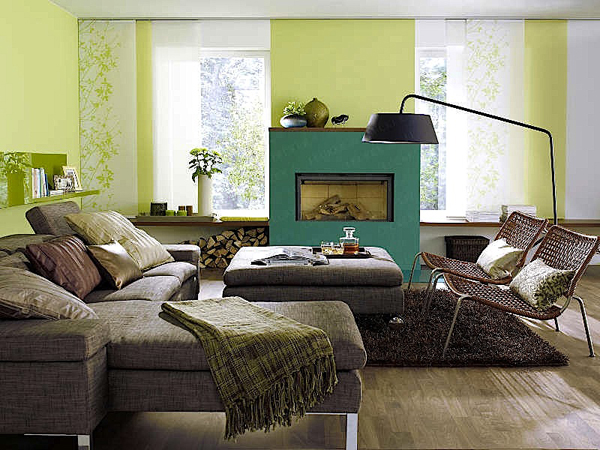 Green Living Room 8
