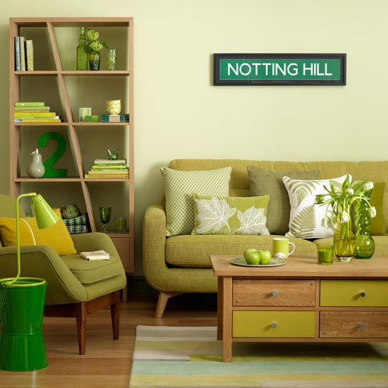 26 relaxing green living room ideas by decoholic bob for Apple green living room ideas