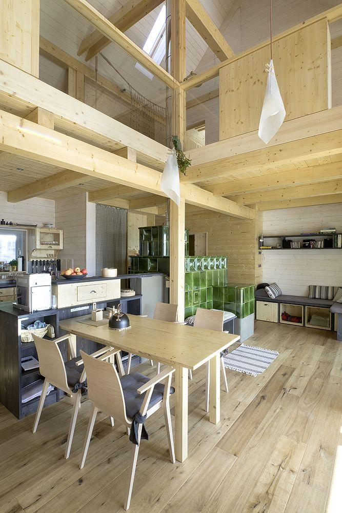 house retreat interiors by A1 architects