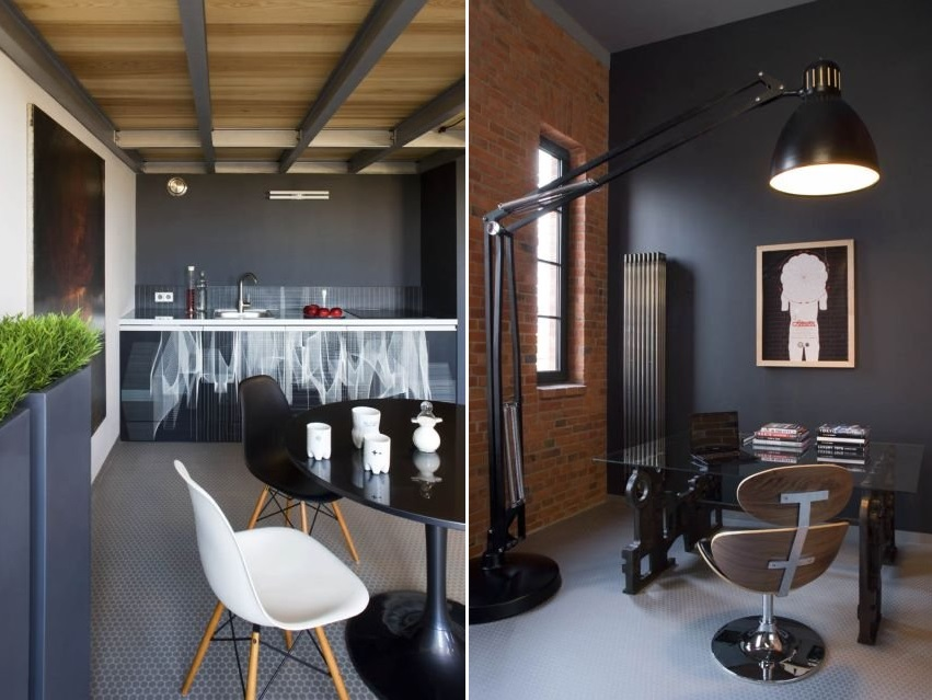 Small modern industrial loft archives decoholic