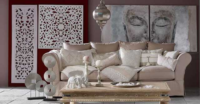 26 lovely living room ideas from around the world decoholic - Meridienne maison du monde ...