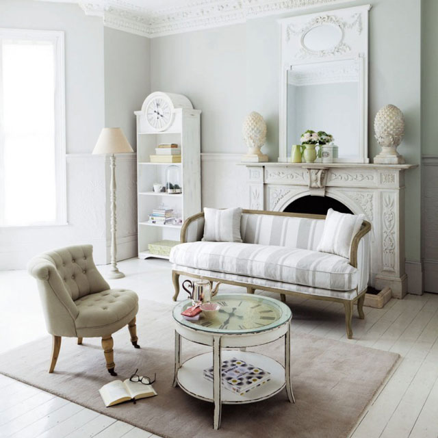 26 lovely living room ideas from around the world decoholic - Miroir soleil maison du monde ...