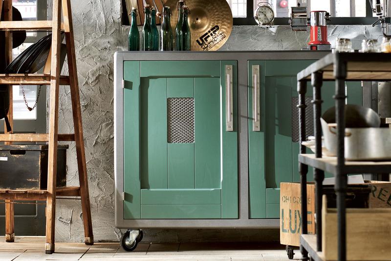 Decoracion Loft Vintage ~ Uniquely Designed Vintage Kitchens  Decoholic