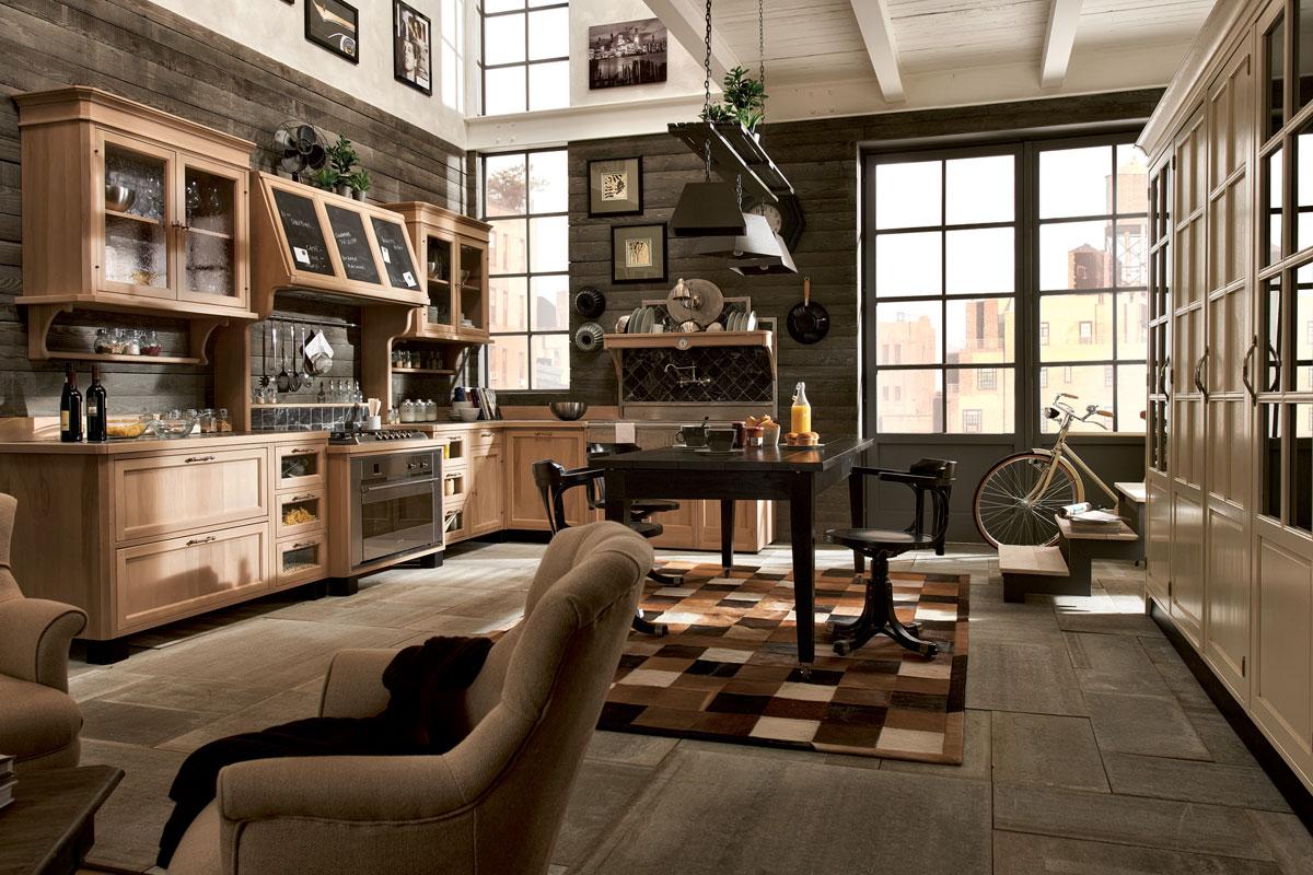 Loft Kitchen Uniquely Designed Vintage Kitchens Decoholic
