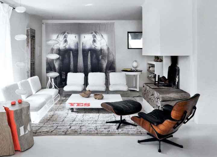 1960s Modern and Casual House by Amélie  Decoholic
