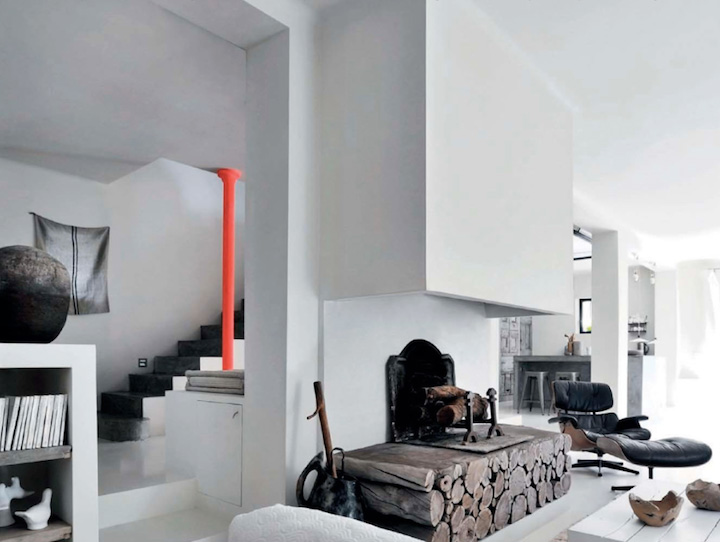 Modern traditional Casual House interiors 3