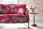 pink living room by harlequin