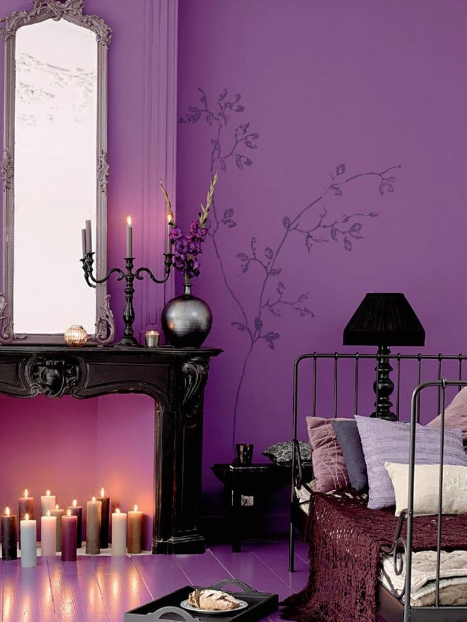 purple bedroom 15 ideas