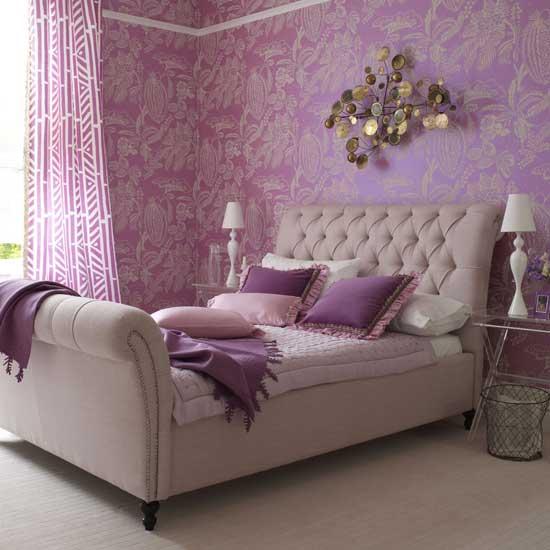 24 Purple Bedroom Ideas - Decoholic