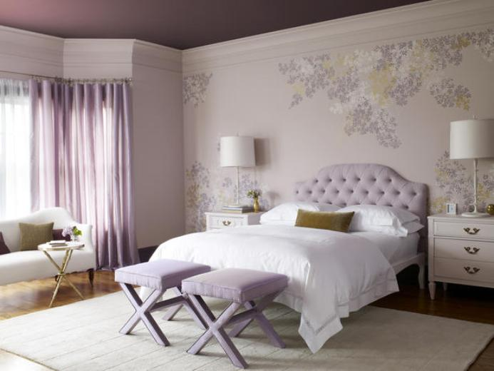 purple bedroom 18 ideas