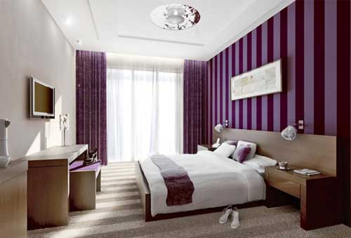 Decorating Ideas > 24 Purple Bedroom Ideas  Decoholic ~ 181233_Bedroom Decorating Ideas Purple